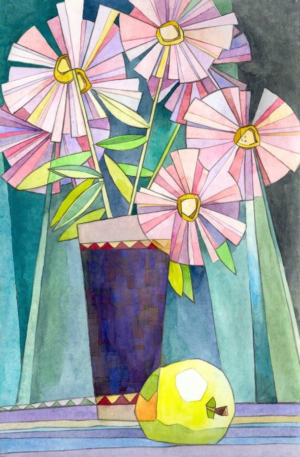 Download Flower bouquet stock illustration. Illustration of decoration - 13469291