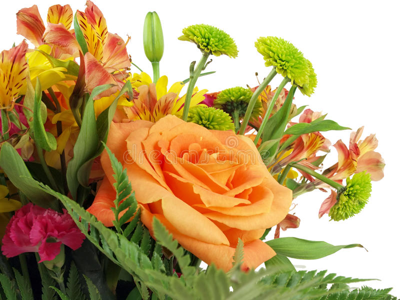 Flower bouquet background royalty free stock image