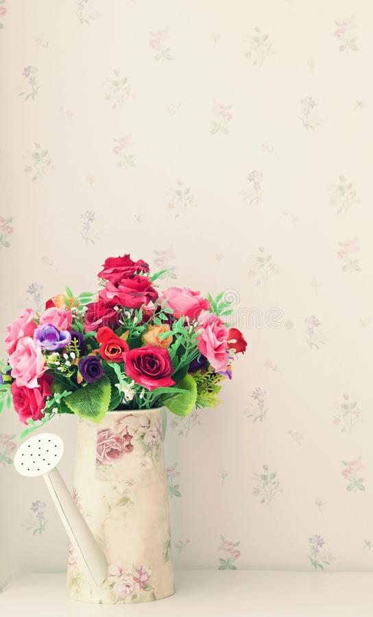 Flower Bouquet In Living Rooem Royalty Free Stock Images
