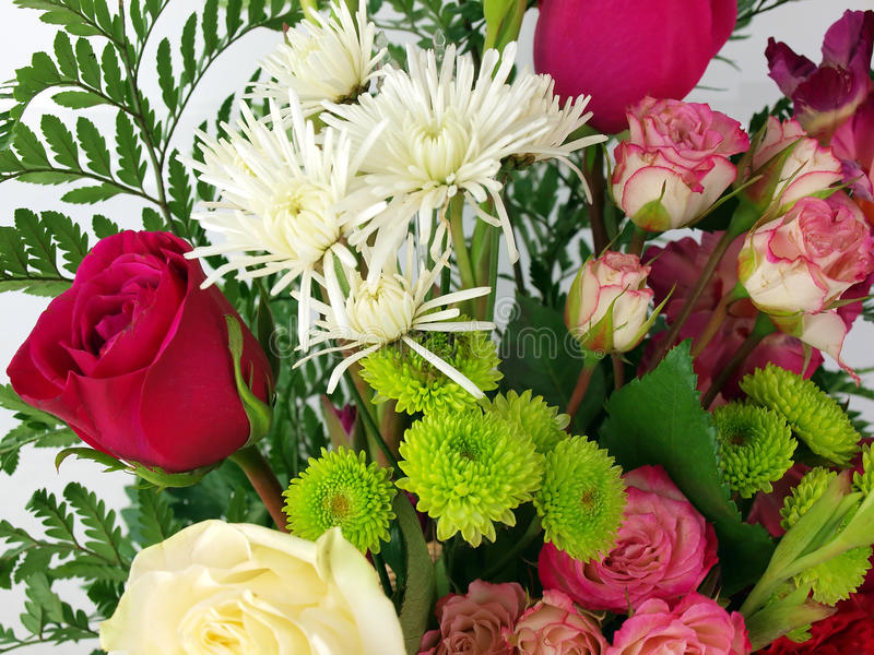 Flower bouquet - rose stock photos