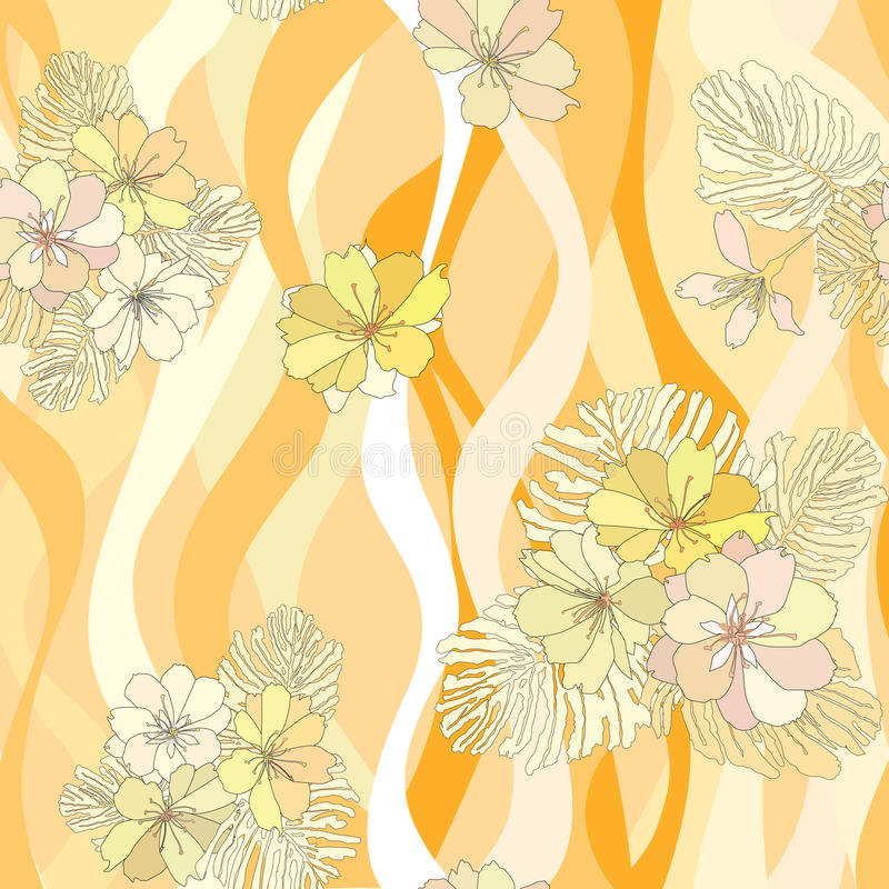 Download Flower Bouquets Seamless Background. Stock Vector - Image: 30751027