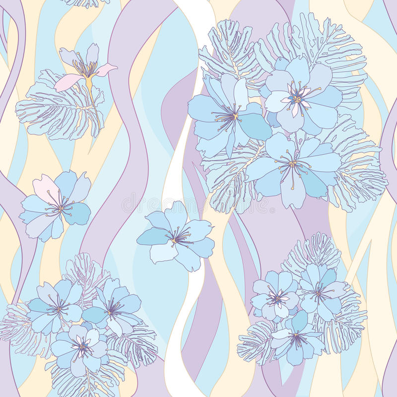 Download Flower Bouquets Seamless Background. Stock Illustration - Image: 30751036