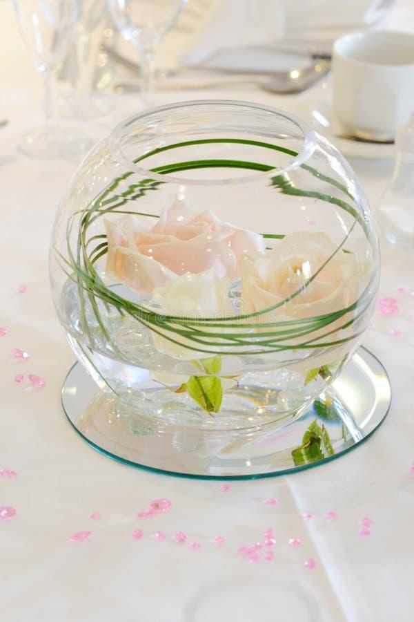 Flower Bowl Decoration Stock Image