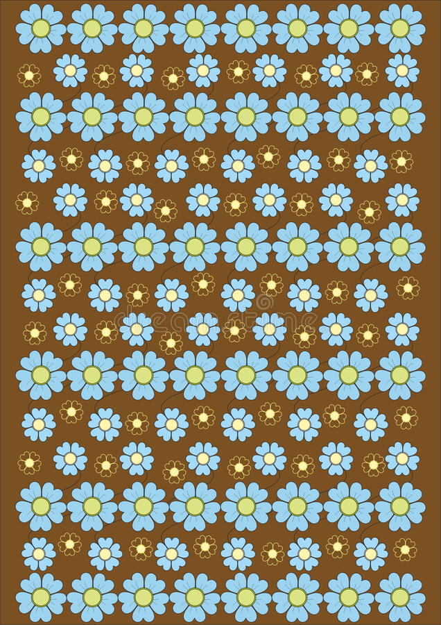 Flower carpet royalty free stock photos