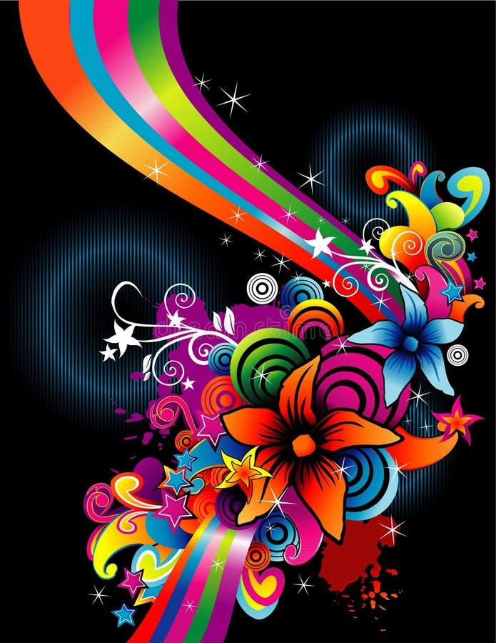 Flower color vector vector illustration