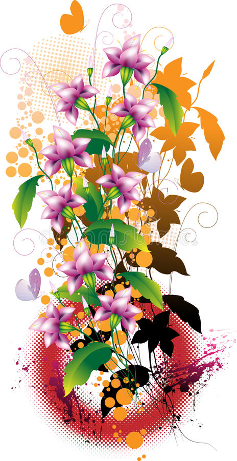 Download Flower composition stock vector. Illustration of design - 14103040