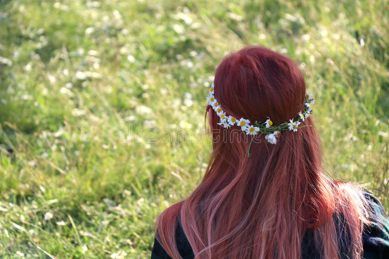 Flower Crown royalty free stock photo