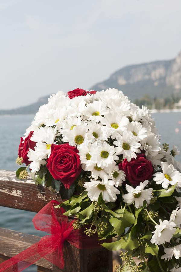 Wedding Impressions of Lake Garda stock photo