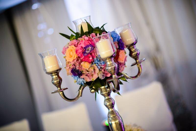 Flower decorations stock image