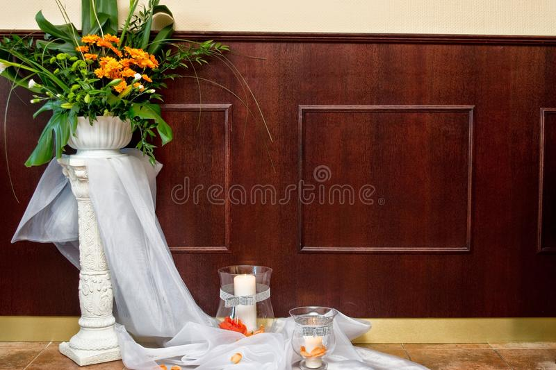 Flower display stock images