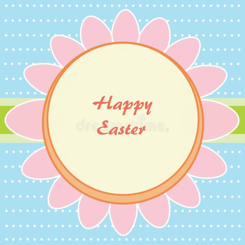 Flower of Easter eggs vector illustration