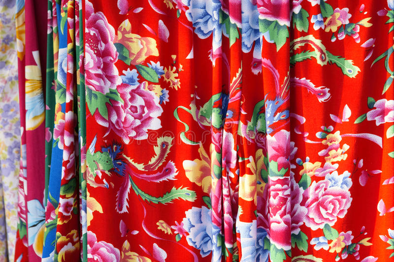 Download Flower fabric stock photo. Image of clothing, motif, phoenix - 16215956