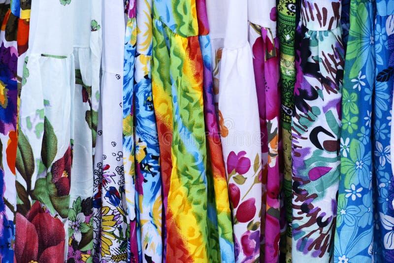 Flower Fabric Stock Image