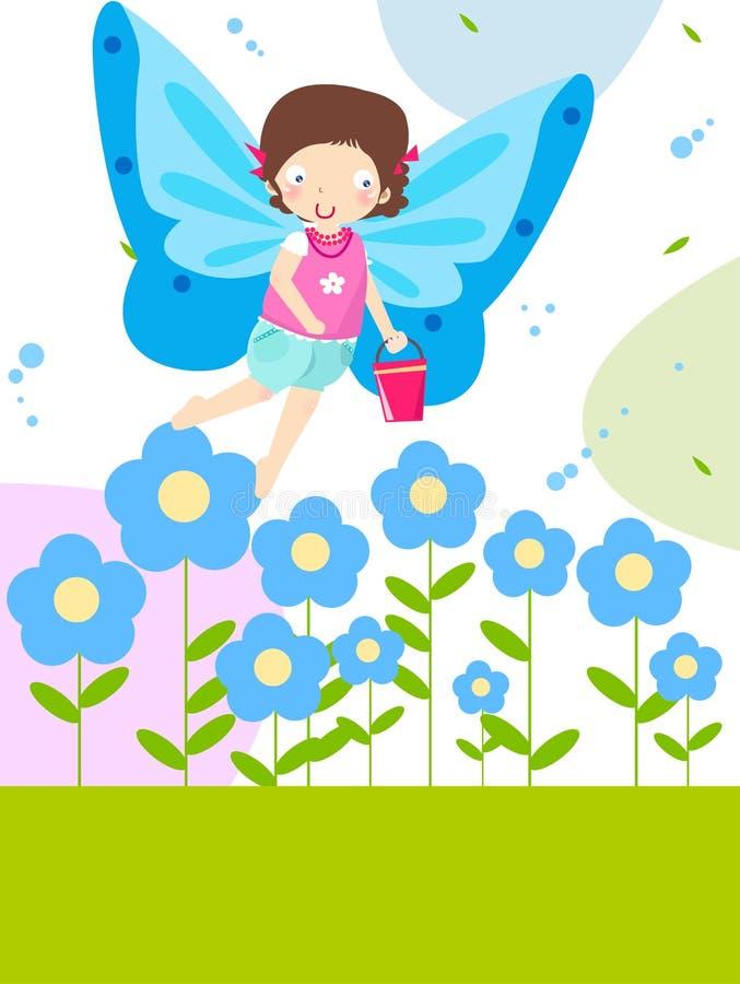 Download Flower fairy stock vector. Image of line, celebration - 11672521