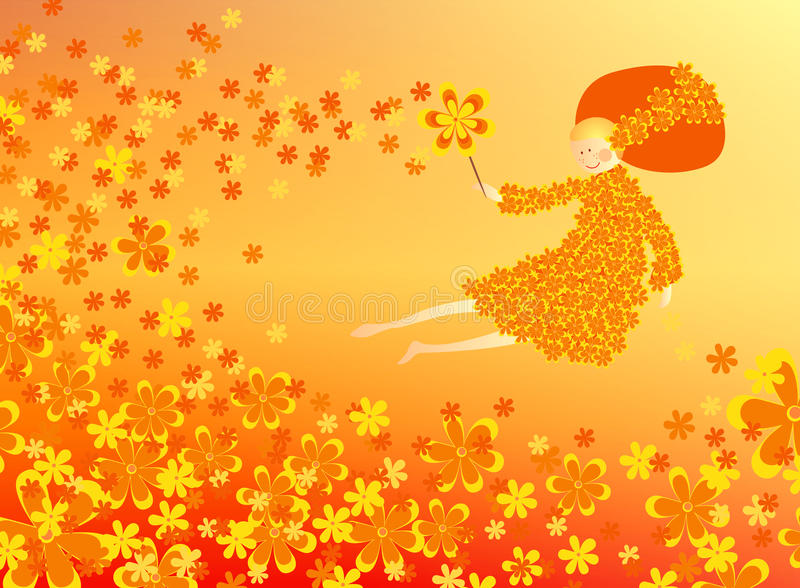 Flower Fairy Stock Images