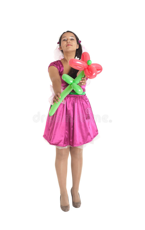 Download Flower from the fairy stock photo. Image of dress, cute - 26618674