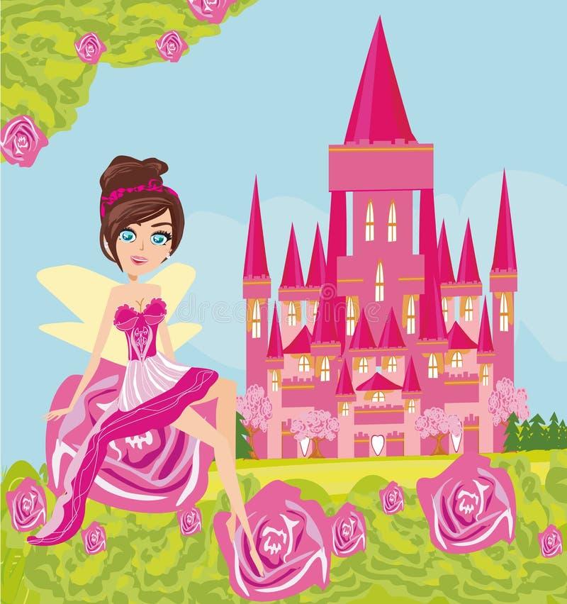 Flower Fairy vector illustration
