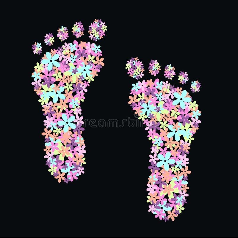 Flower Feet Stock Photography