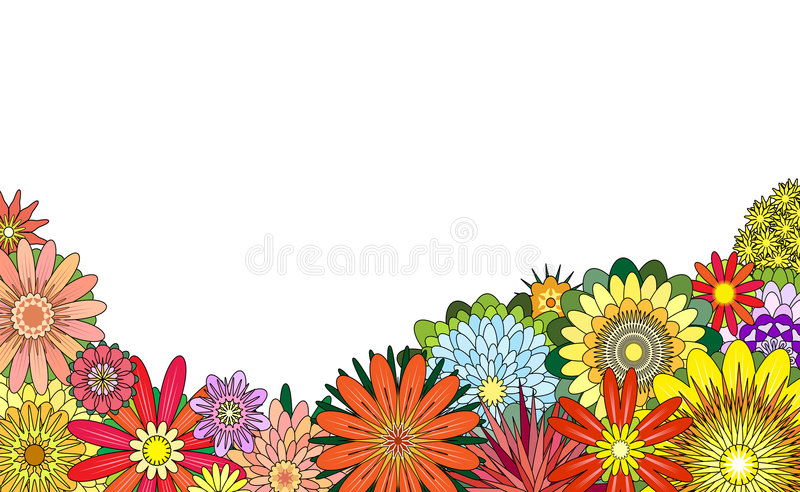 Download Flower foreground stock vector. Illustration of floral - 4170514