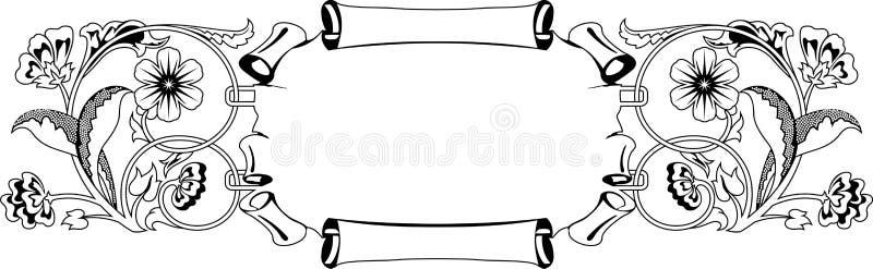Download Flower frame stock vector. Image of decoration, leaf - 10463838