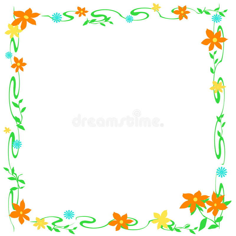 Download Flower Frame Stock Photography - Image: 13154932