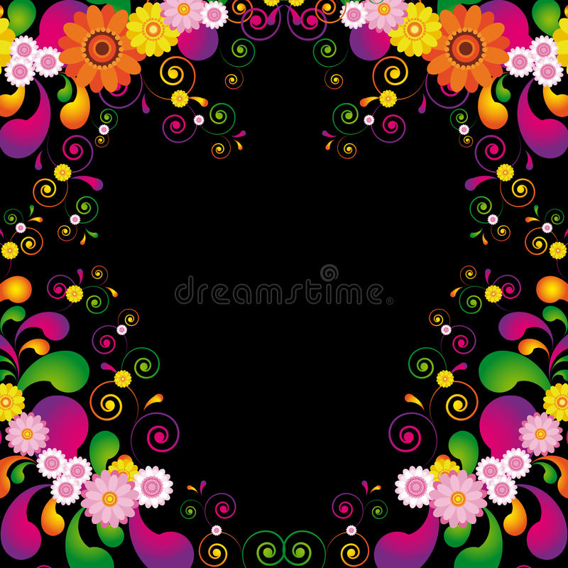 Download Flower Frame Stock Photos - Image: 14465163