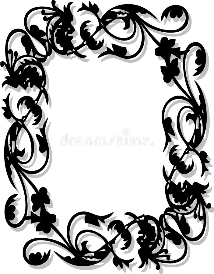 Flower Frame royalty free stock photo