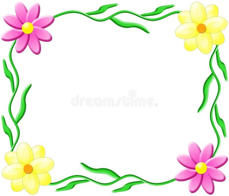 Flower Frame royalty free stock photos
