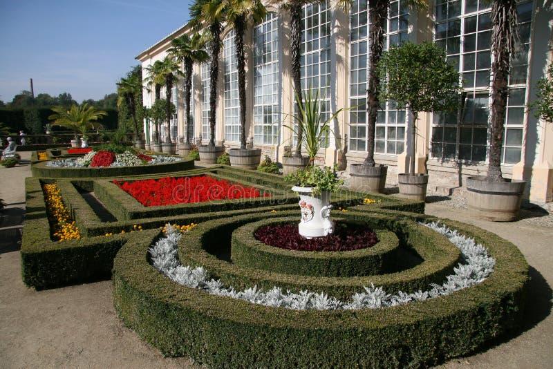 Download Flower garden, Kromeriz stock image. Image of garden - 12468043