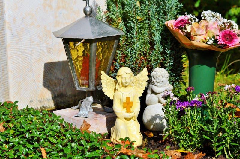 Flower, Garden, Plant, Statue stock photo