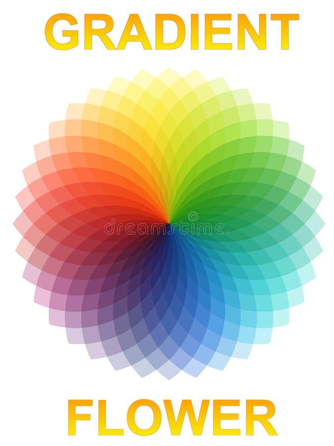 Flower Gradient Stock Image