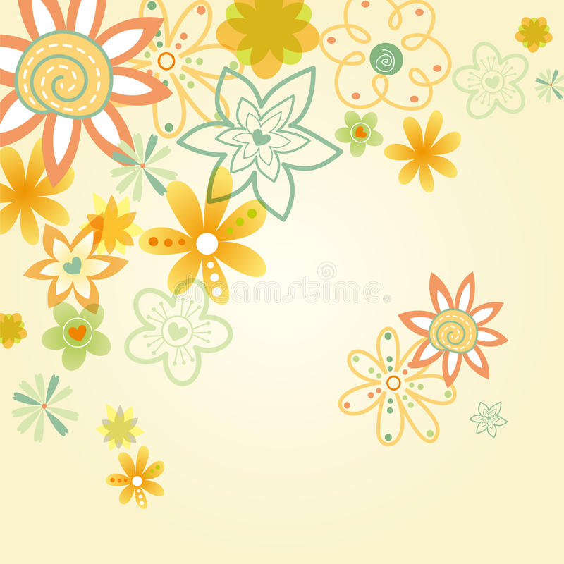 Download Flower illustration stock vector. Illustration of abstract - 21460476