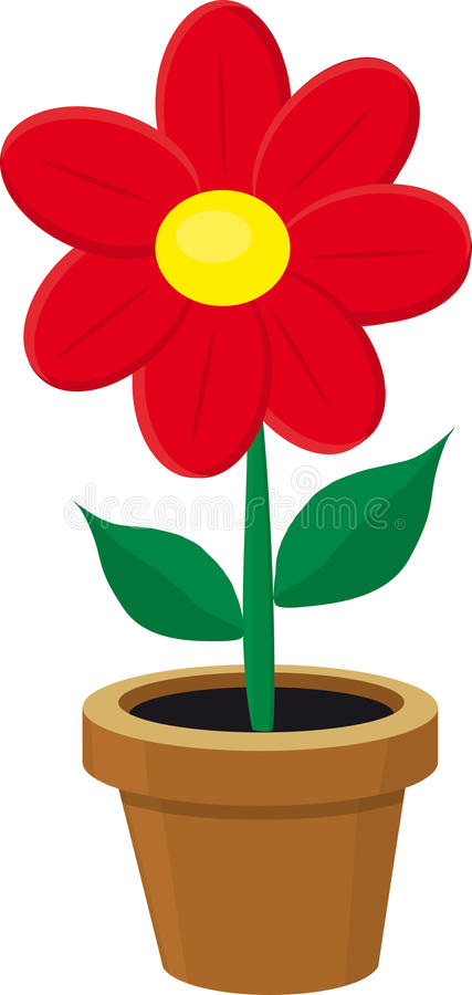 Free Flower In The Pot Royalty Free Stock Photography - 16135907