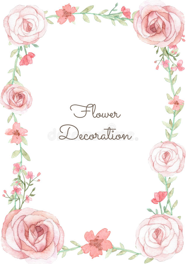 Free Flower Invitation Card Stock Image - 59578771