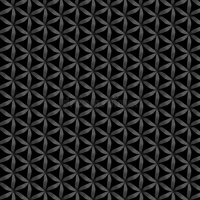 Flower Of Life Vector Pattern Stock Vector Illustration Of Design Geometry 121434501