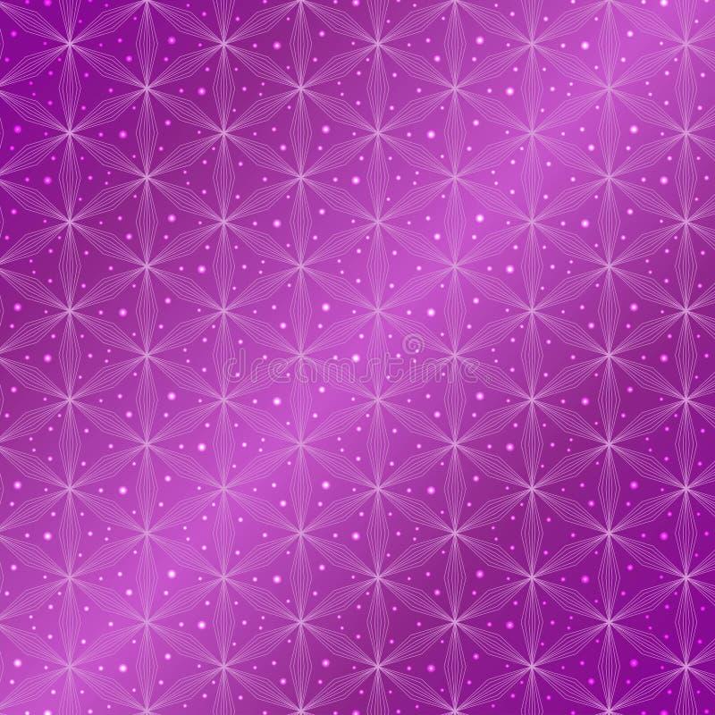 Flower of life vector pattern stock illustration