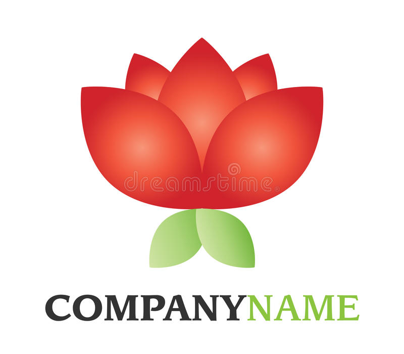 Flower Logo Royalty Free Stock Images
