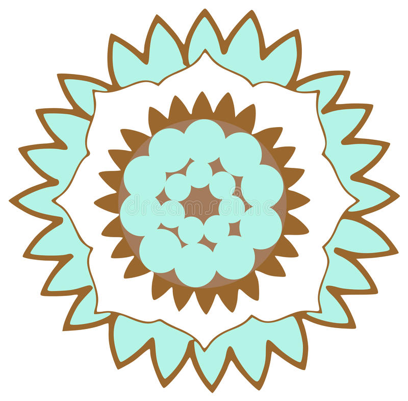 Flower Logo Royalty Free Stock Photography