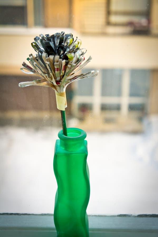 Download Flower made of paper stock image. Image of craft, vase - 17497877