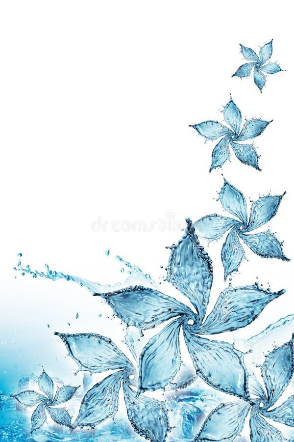 Download Flower Made Of Water Splash Stock Illustration - Illustration of lotus, concept: 91990372