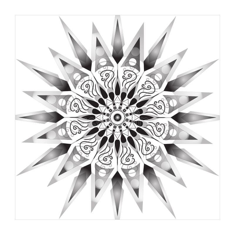 Flower Mandala. Vintage decorative elements. Oriental pattern,  illustration. Islam, Arabic, Indian, moroccan,spain, turkish. Pakistan, mystic, ottoman motifs vector illustration