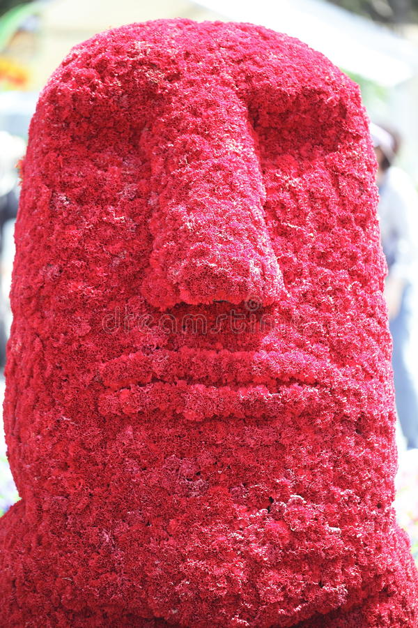 Download Flower Moai stock photo. Image of archaeology, locations - 24791510
