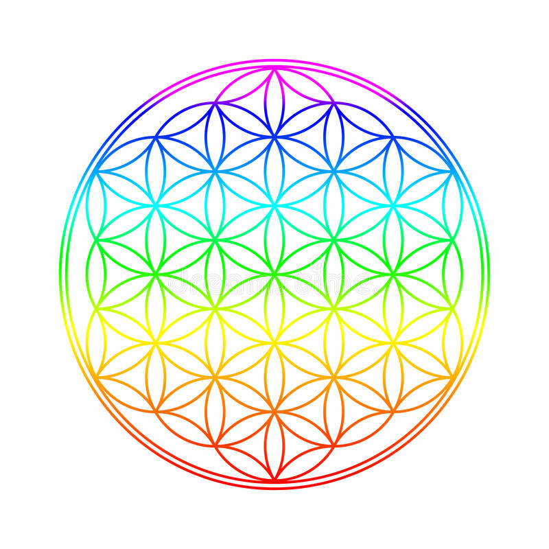 Free Flower Of Life Royalty Free Stock Images - 34947889