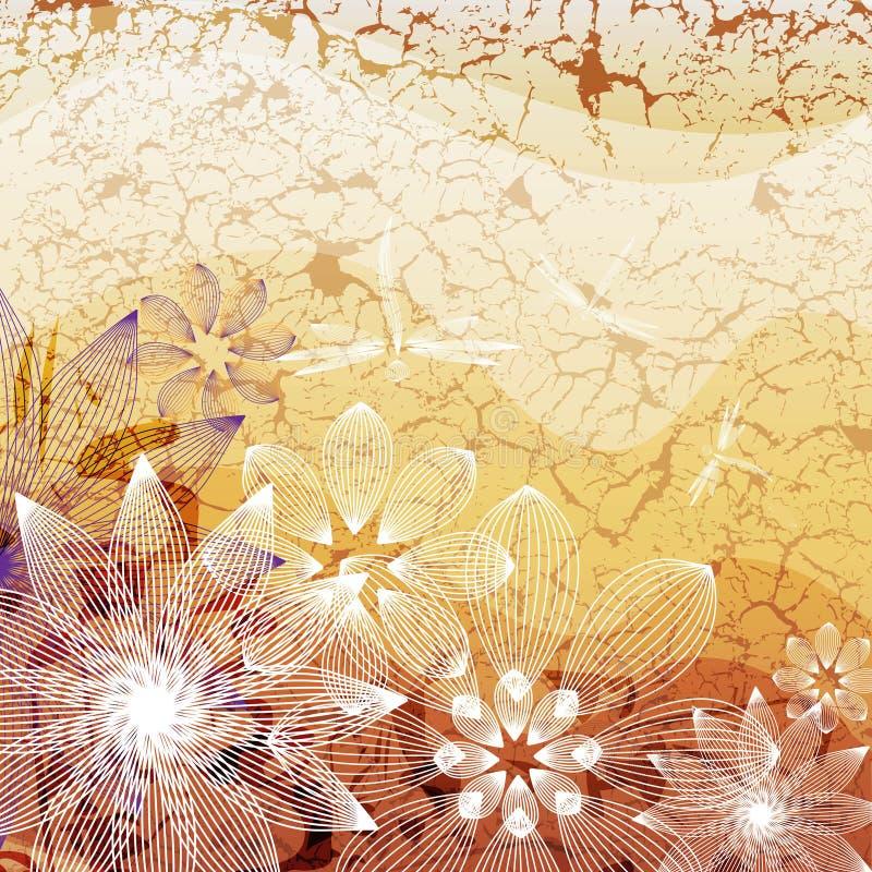 Free Flower On Grange Background Stock Photography - 32173752