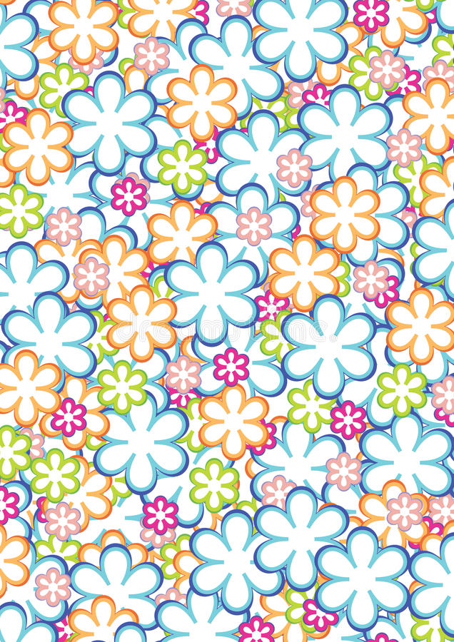 Free Flower Pattern 2 Stock Photo - 14932550