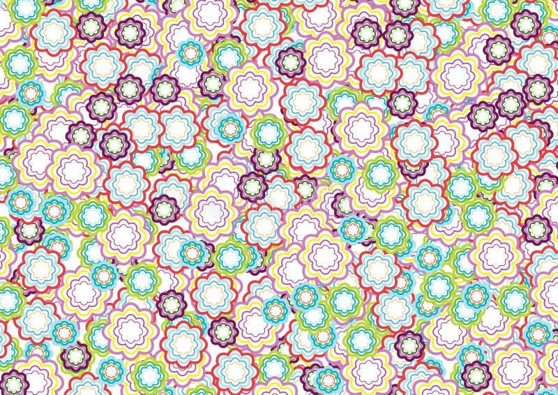Flower pattern 4 royalty free illustration