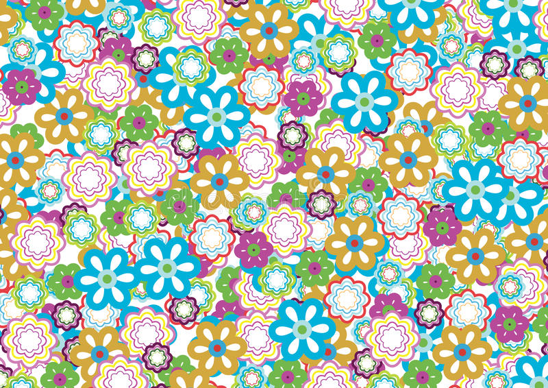 Flower Pattern 5 Royalty Free Stock Photo