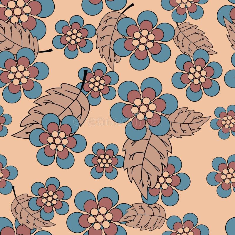 flower pattern seamless иллюстрация штока