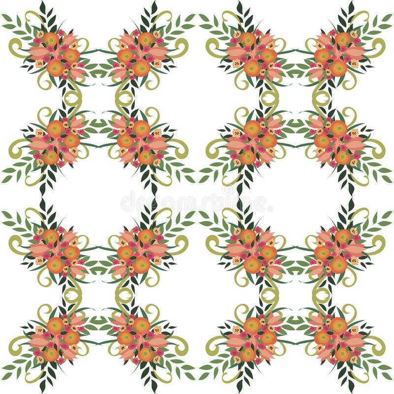 Download Flower pattern stock photo. Image of painting, textured - 33053166