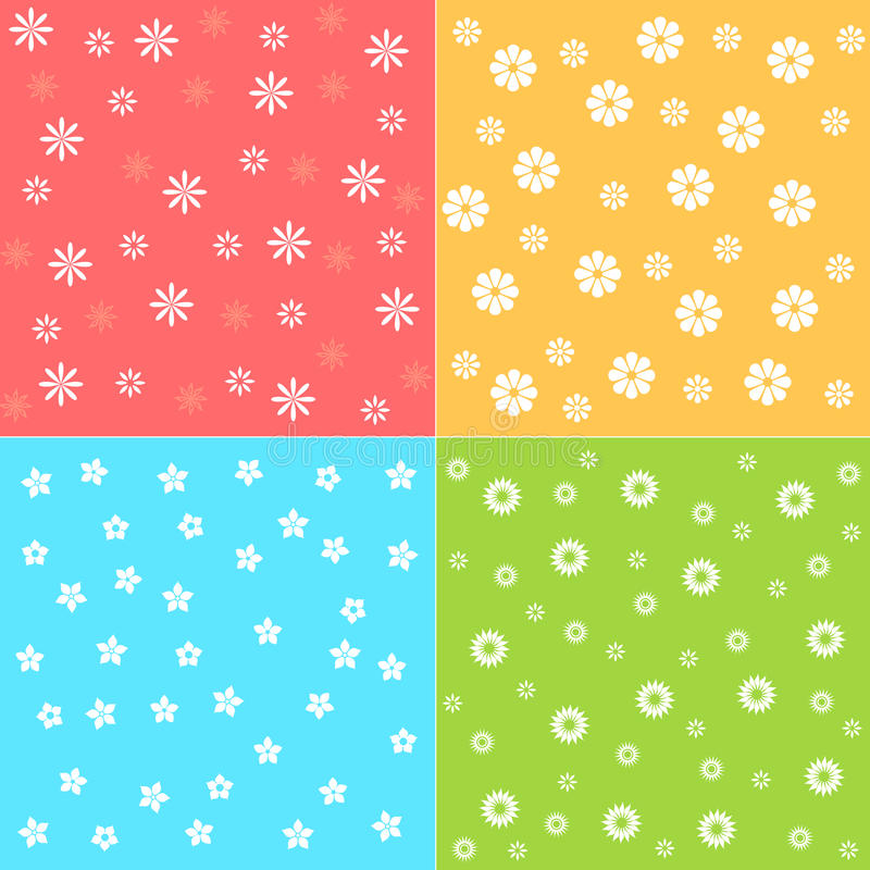 Download Flower patterns stock vector. Illustration of decor, gifts - 21896214